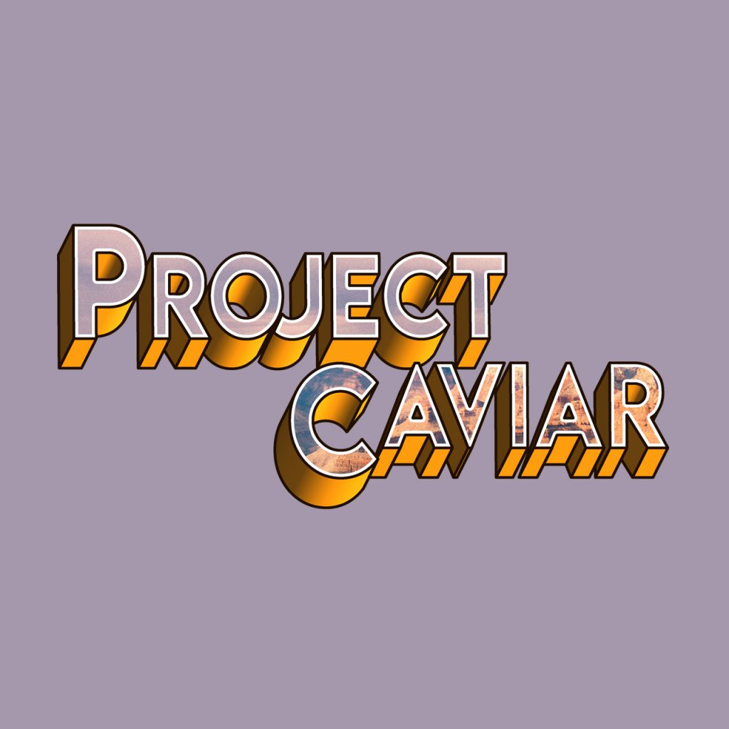 Logo der Virtual Reality Anwendung Project Caviar