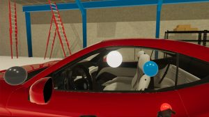 Auf dem Bild ist zu sehen wie man in Project Caviar sein Auto anpassen kann.
