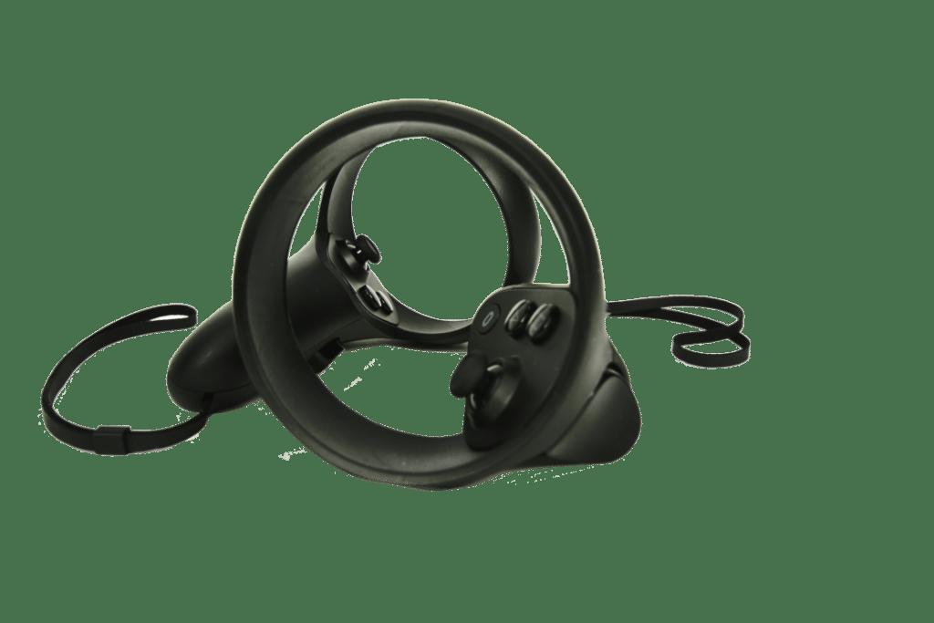 Bild von den Touch Controllern der Oculus Quest