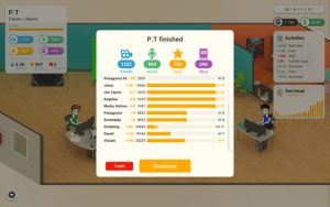 Screenshot aus dem Spiel Seriesmaker.