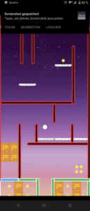 Screenshot Pong's Adventure im Google Playstore